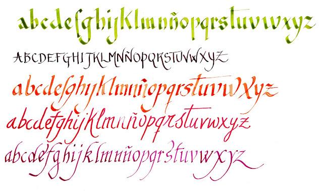 Tipos de letras bonitas - Imagui